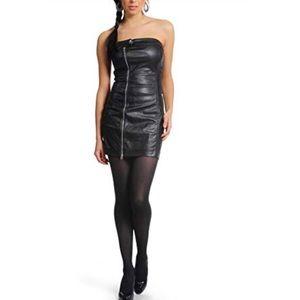 Miss sixty strapless dress